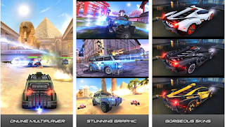 SS Overload 3D Moba Car Shooting