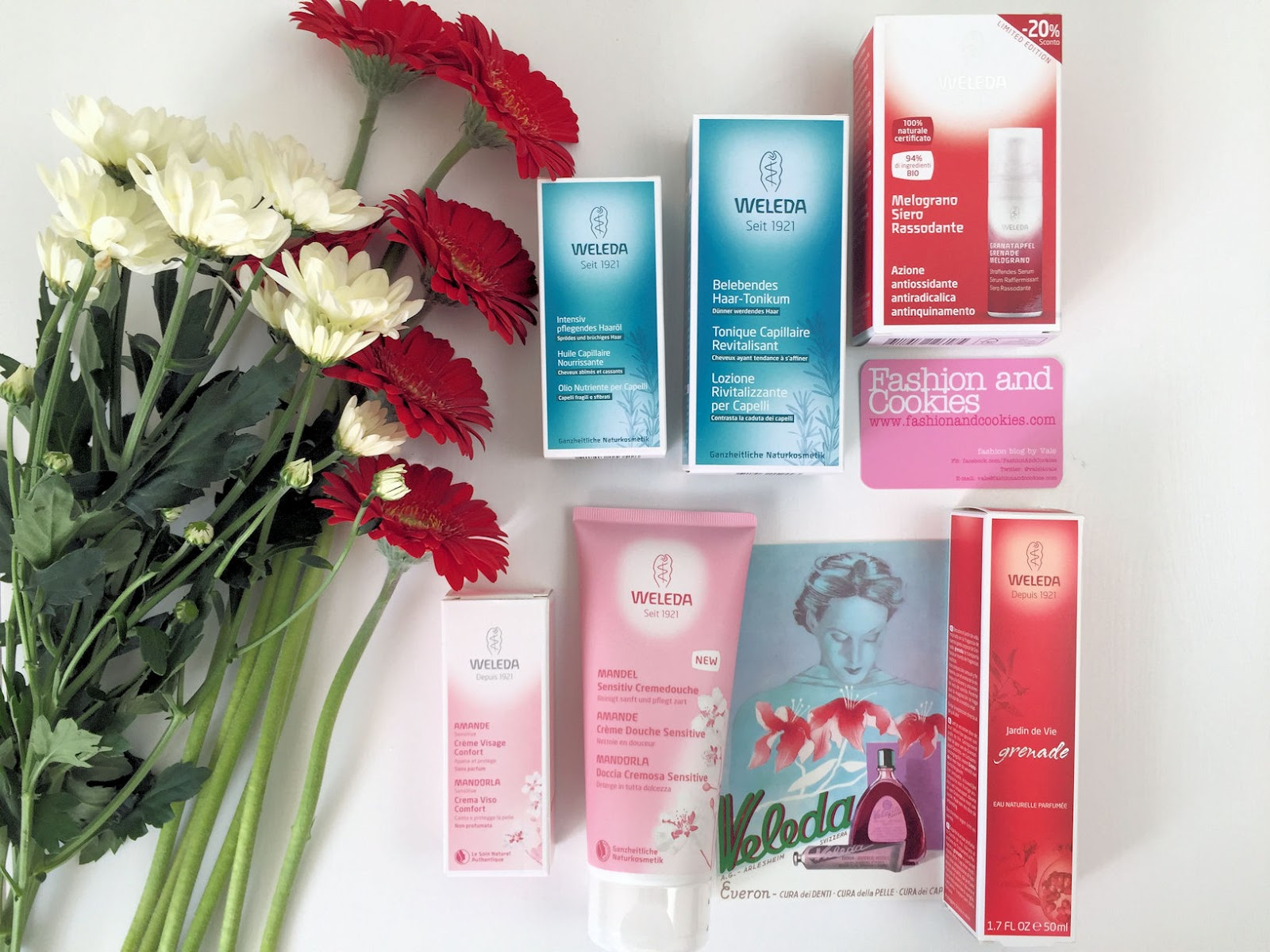 Weleda Natural & Organic Cosmetics haul and review on Fashion and Cookies beauty blog, beauty blogger