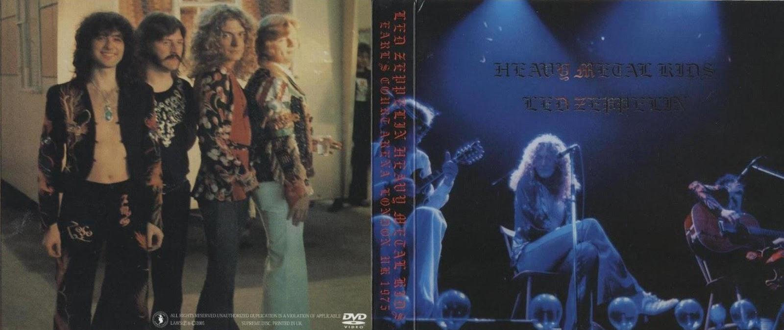 T.U.B.E.: Led Zeppelin - 1975-05-24/25 - London, UK ...