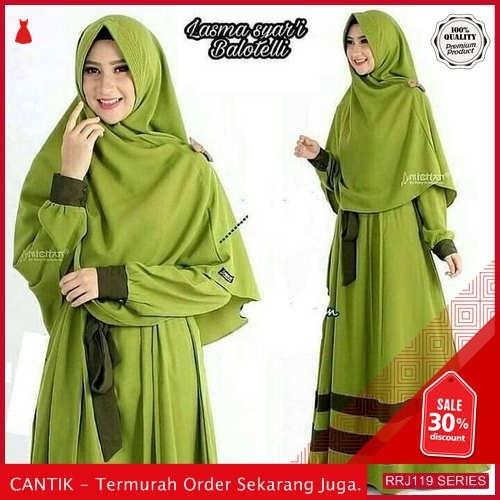 Jual RRJ119D176 Dress Muslim Lasma Wanita Syari Balotelly Sk BMGShop