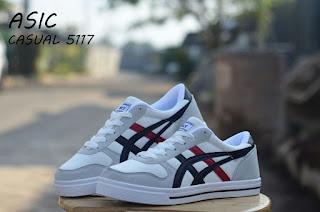 Sepatu Asic Casual 5117 (Import) White Black