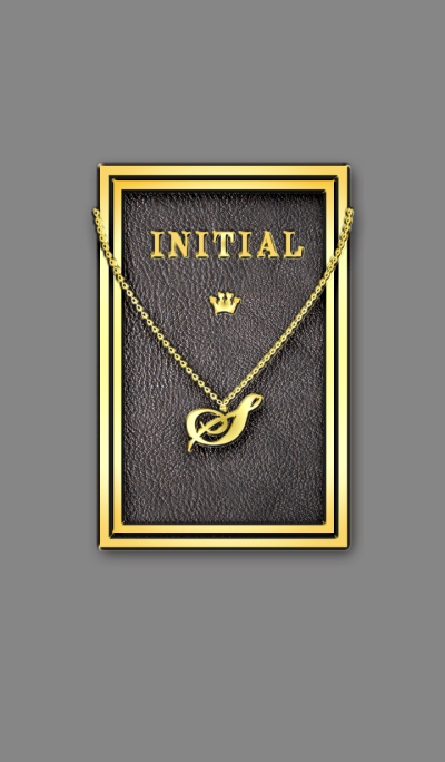 Initial S / Gold