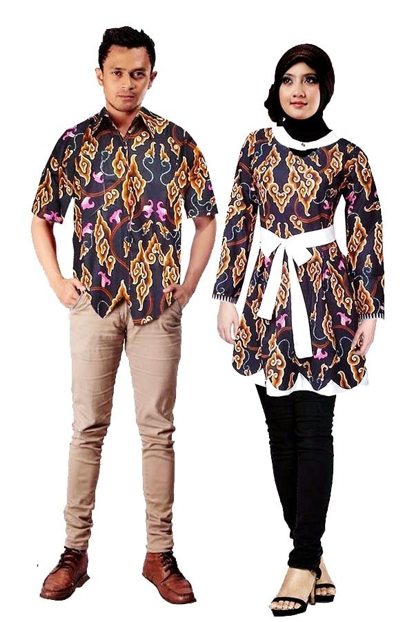 Gambar Foto Model Baju Batik Pasangan Couple