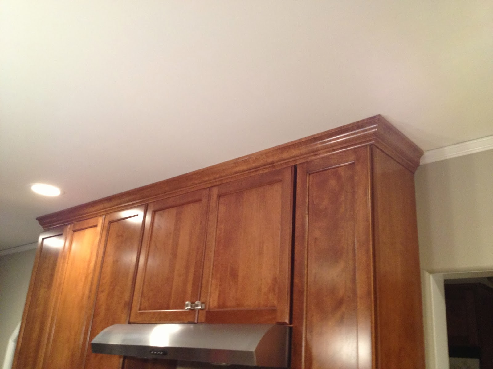 Life Of The Lorenzens: Kitchen: Crown Moulding