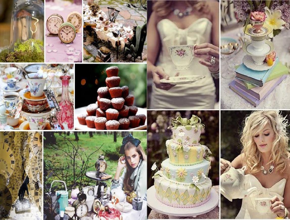 DIY Weddings- Vintage Alice In Wonderland