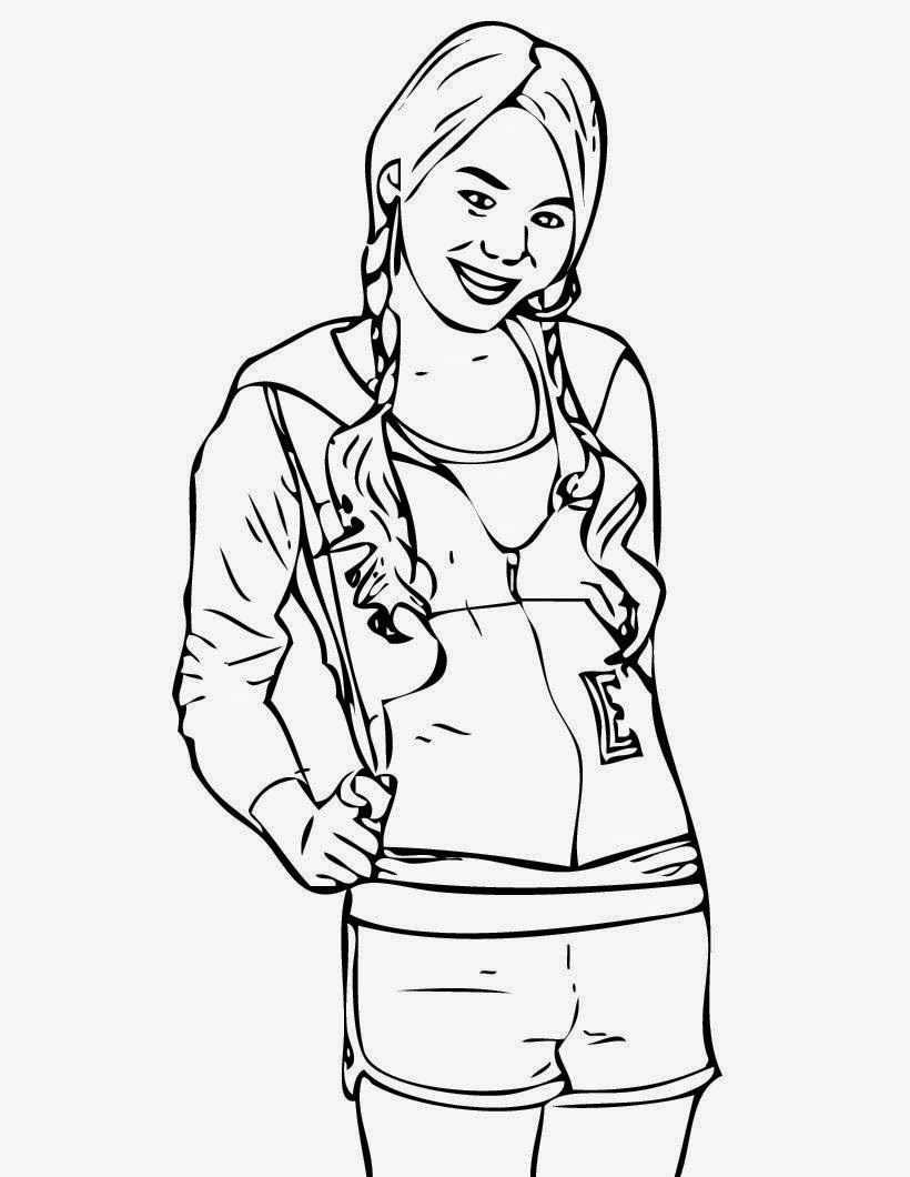 miley cyrus coloring pages printable - photo#5