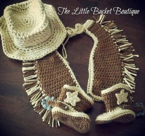 Crochet Baby Cowgirl Outfit Pattern Free : Blog laine tricot crochet Planete Laine: mai 2016