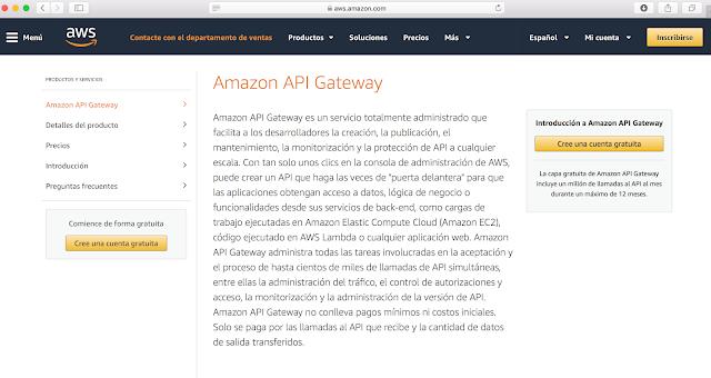 API utilizadas para gestionar cloud, por ejemplo, Amazon EC2 imagen