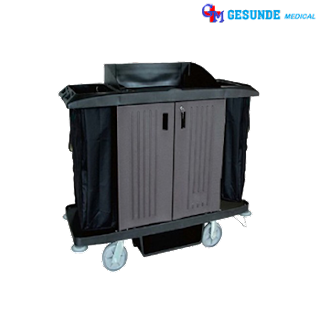 Troli Pakaian Bersih Dan Kotor (Linen Trolley)