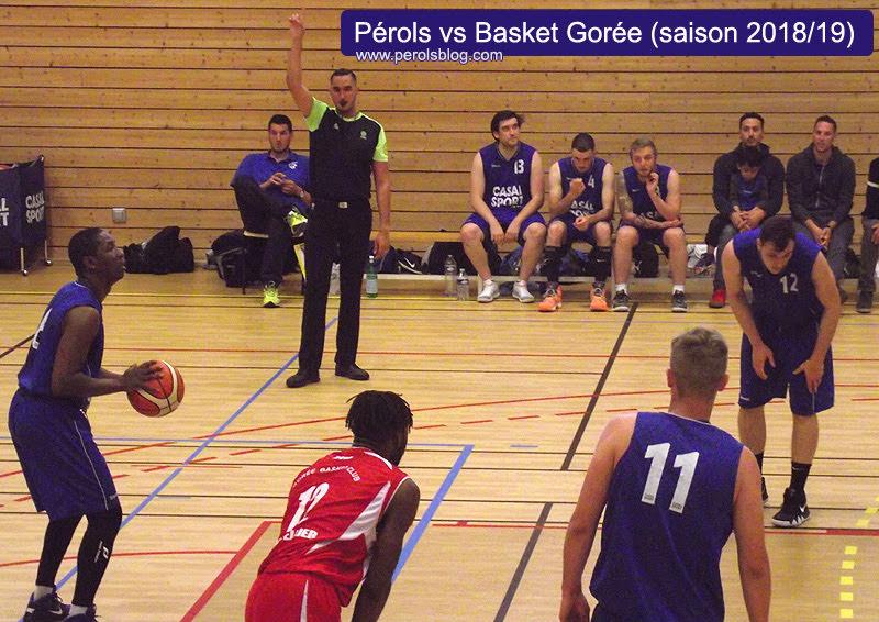 ARM Gorée basket vs Pérols