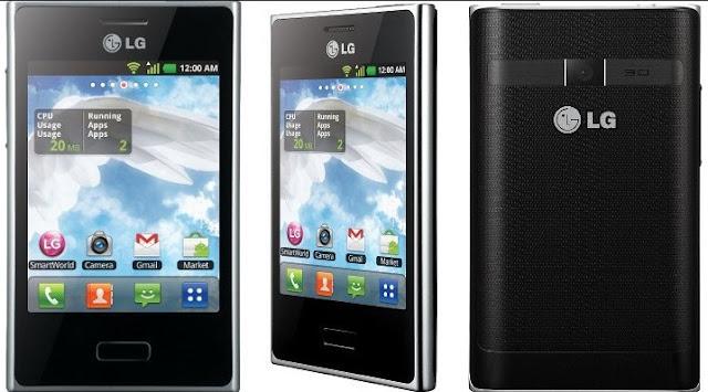 Harga HP Android LG Optimus L3 E400 Tahun Ini Lengkap Dengan Spesifikasi Harga Dibawah 700 Ribuan