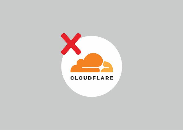 Cara Menghapus Website Dari CloudFlare
