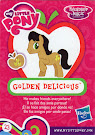 My Little Pony Wave 14 Golden Delicious Blind Bag Card