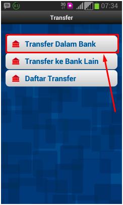 cara transfer uang lewat hp