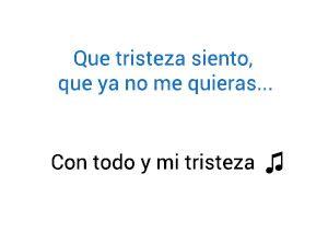 Juan Gabriel Con todo y mi tristeza significado de la canción.