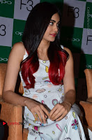 Bollywood Actress Adah Sharma Pos in White Printed Short Dress at OPPO F3 Plus Selfie Expert Mobile Launch .COM 0015.jpg