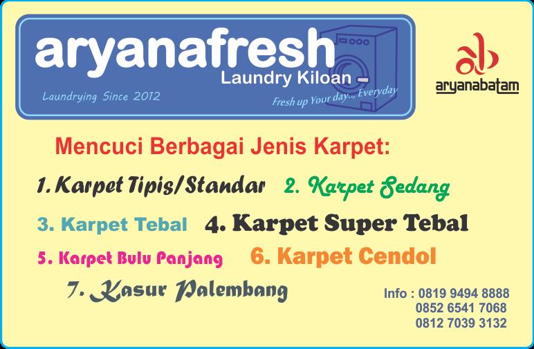Laundry Partai Besar, Laundry Konveksi, Cuci Karpet Murah