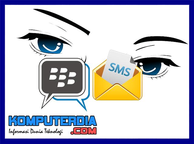 Cara menyadap percakapan BBM dan SMS orang lain dengan Smartlog