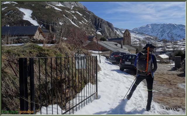 Finalizamos ruta en La Cueta en la comarca de Babia.