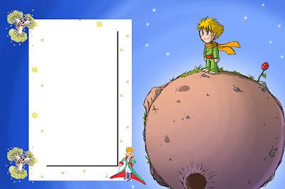 O Pequeno Príncipe Kit Completo Com Molduras Para Convites