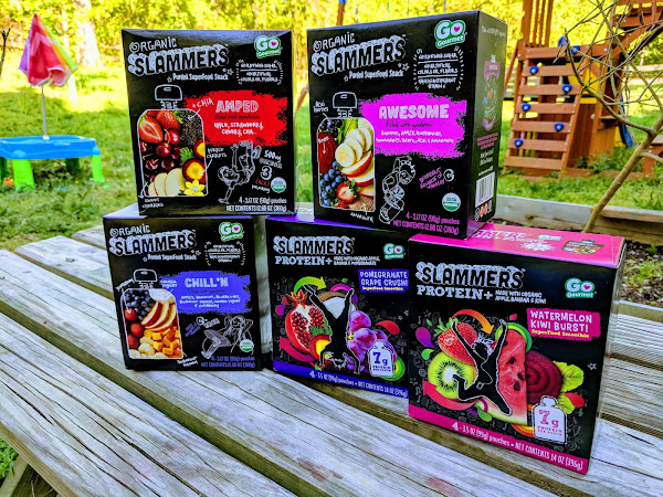 Slammers Superfood Snacks: Real Nutrition for Real Life + Giveaway