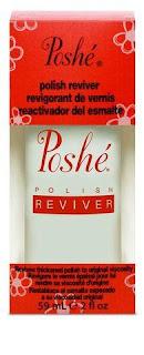 Poshe Reviver - rozcienczalnik do lakierów / nail polish thinner