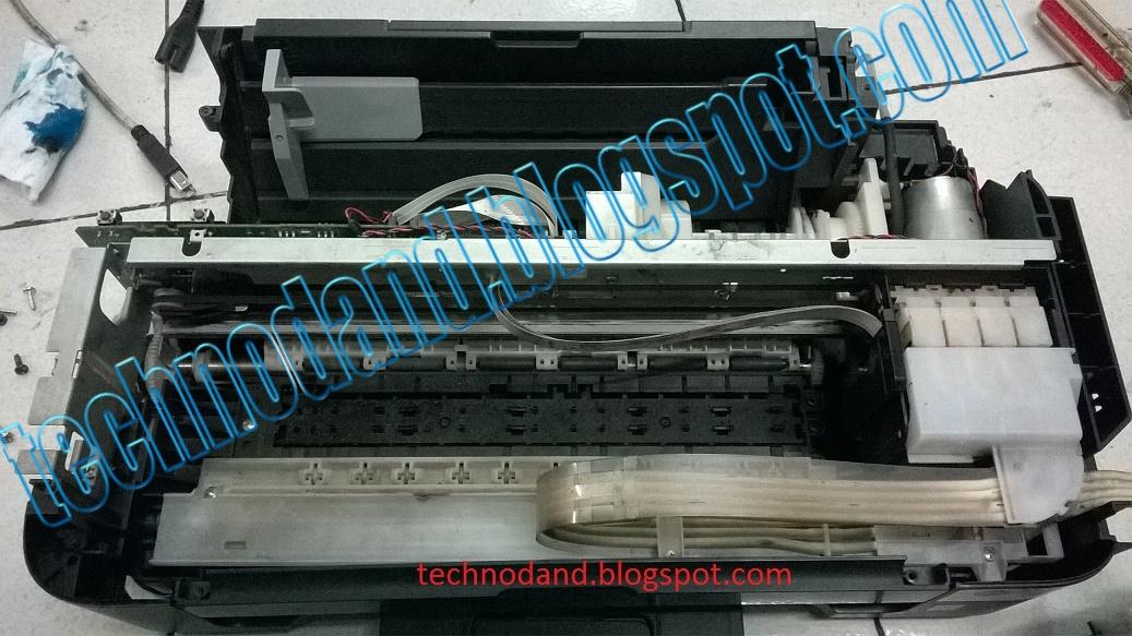 Printer Epson L110, L210, L300, L310 Blinking Paper Jam - Technodand