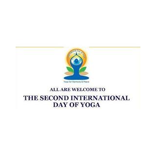 second international yoga day