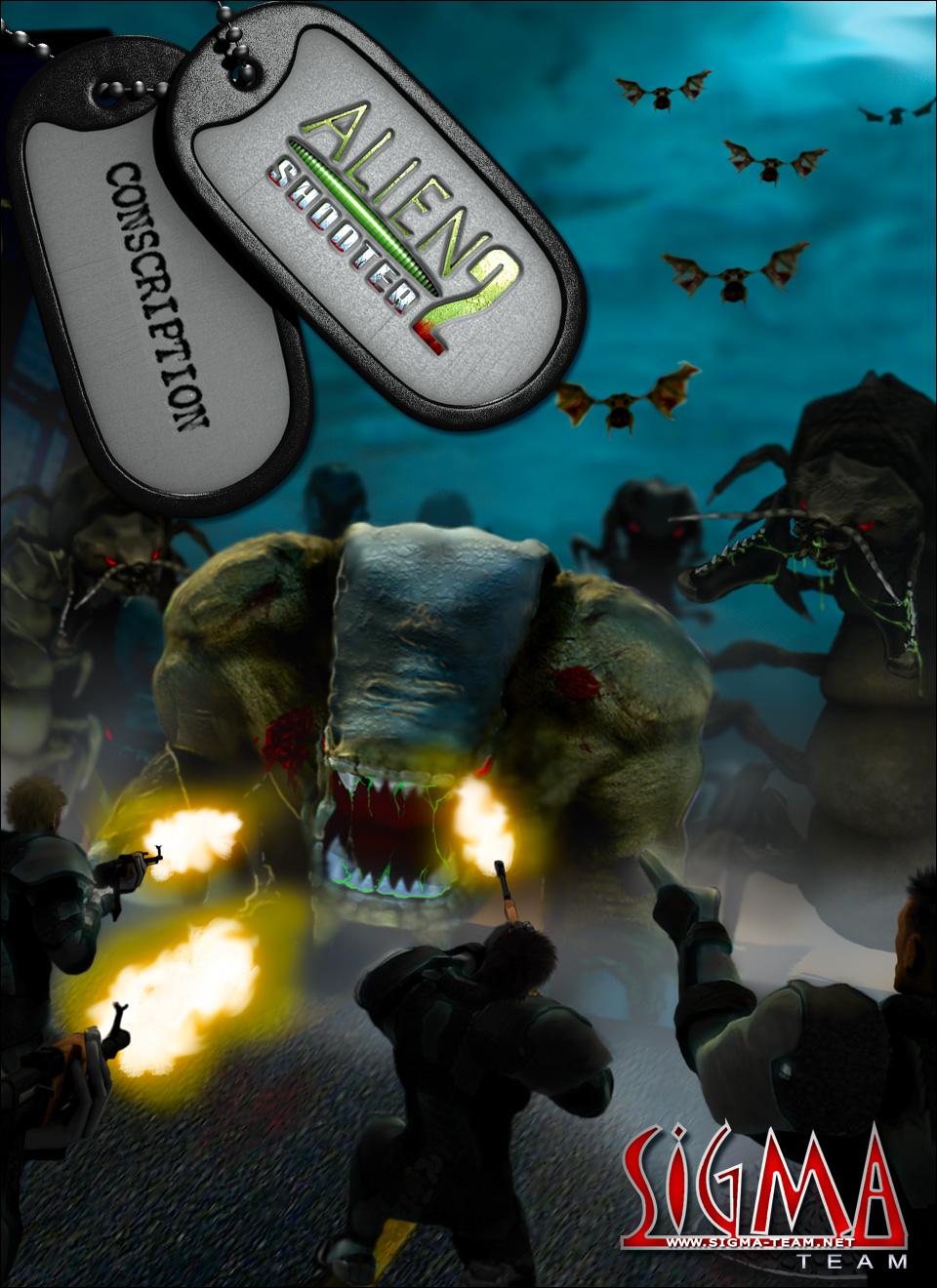 Hướng dẫn chơi game Alien Shooter 2 Conscription mission 6