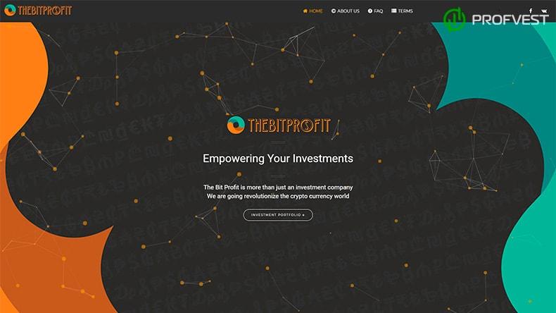 TheBitProfit обзор и отзывы HYIP-проекта