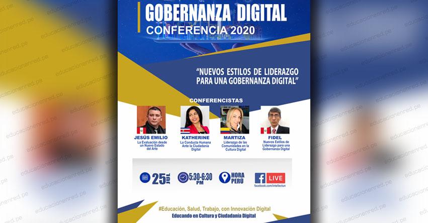 Conferencia Internacional Virtual «Nuevos Estilos de Liderazgo para una Gobernanza Digital»