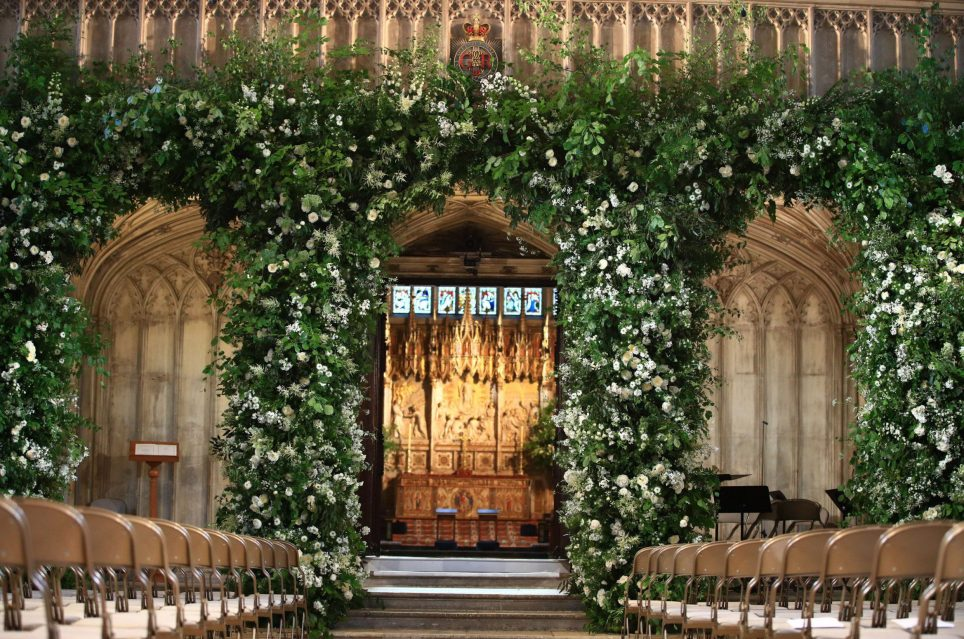 best photo of the royal wedding flowers