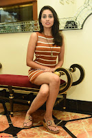 Actress Nikhita in Spicy Small Sleeveless Dress ~  Exclusive 018.JPG