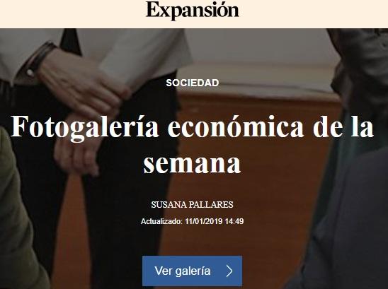 FOTOGALERIA ECONOMICA DE LA SEMANA EXPANSION 11 ENERO DE 2019