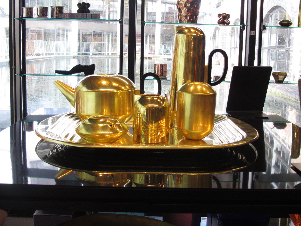 Breakfast Was Served At Tom Dixon In Portobello Docks Yesterday Morning Not This New Set Coffee Tea By Br