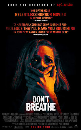 Poster Of Free Download Don't Breathe 2016 300MB Full Movie Hindi Dubbed 720P Bluray HD HEVC Small Size Pc Movie Only At worldfree4u.com
