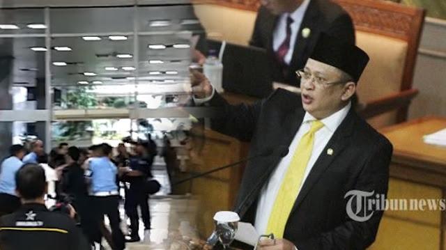 Ketua DPR Dipaksa Turun dari Jabatannya, Bambang Soesatyo Malah Pasang Aksi Begini, Lihat Videonya!