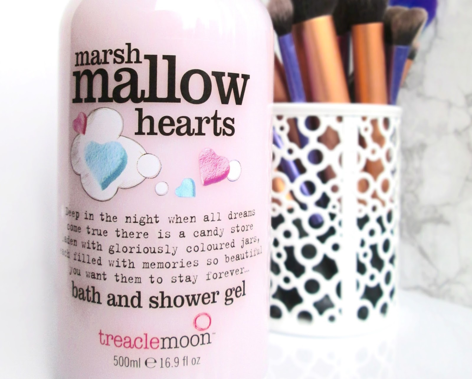 Treaclemoon Marshmallow Hearts Shower Gel