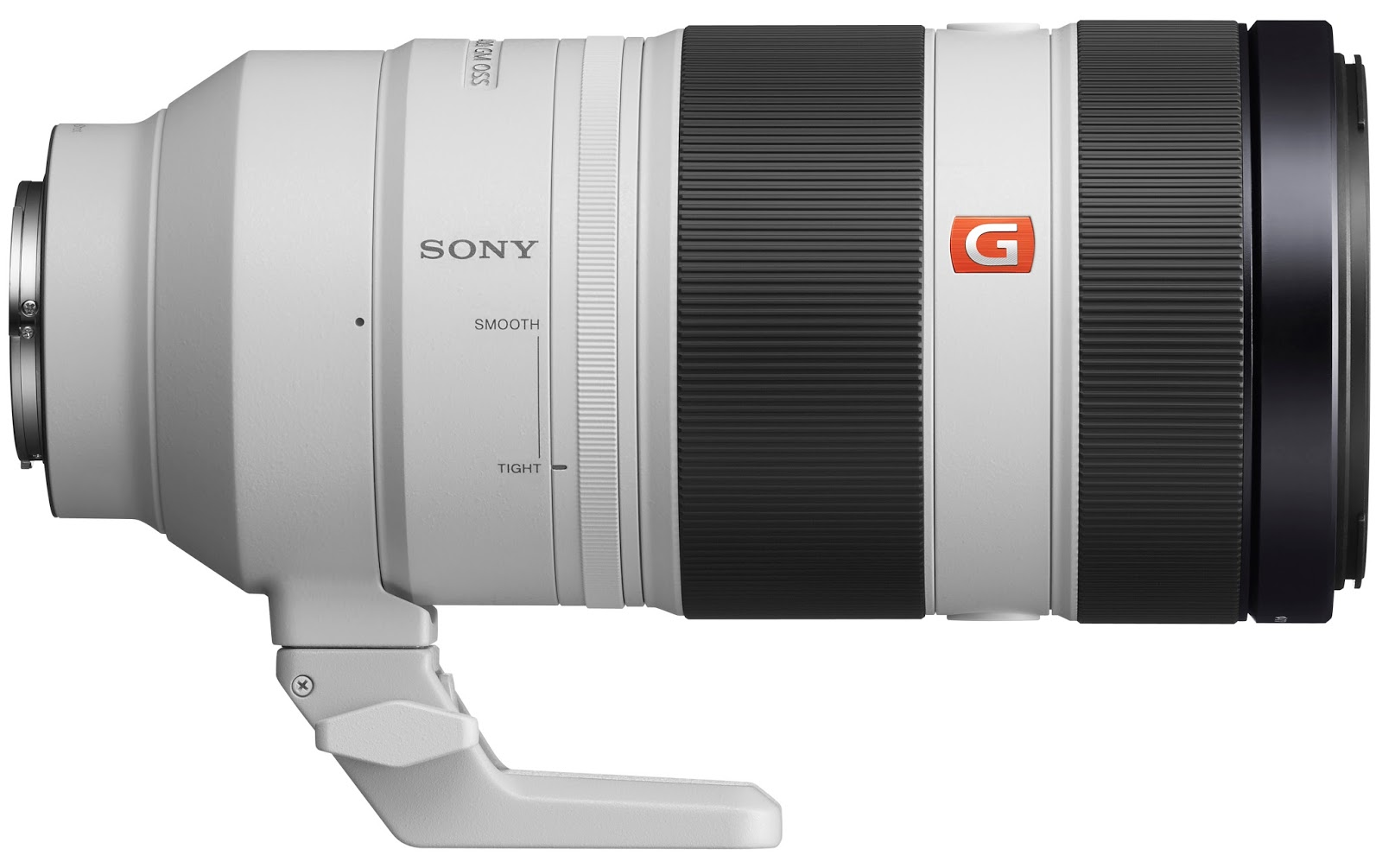 Sony FE 100-400mm f/4.5–5.6 GM OSS, управление зуммированием