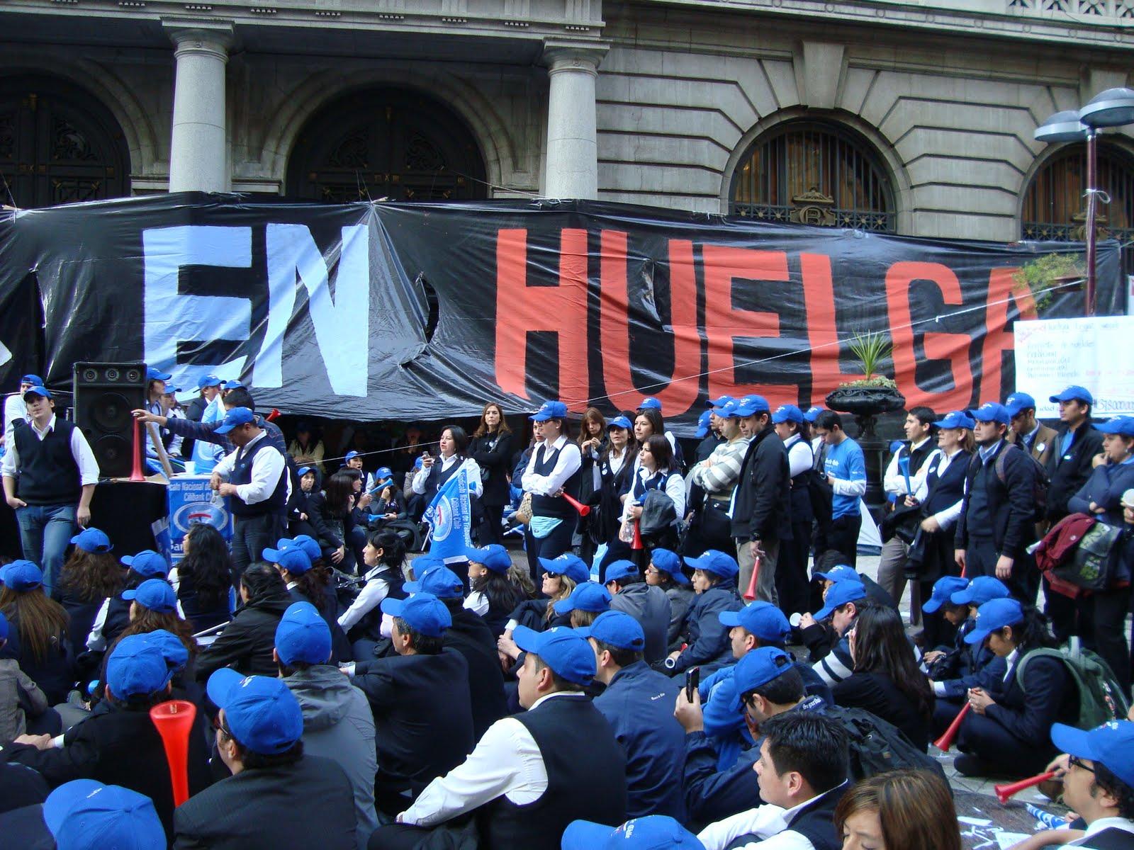 Huelga Banco de Chile