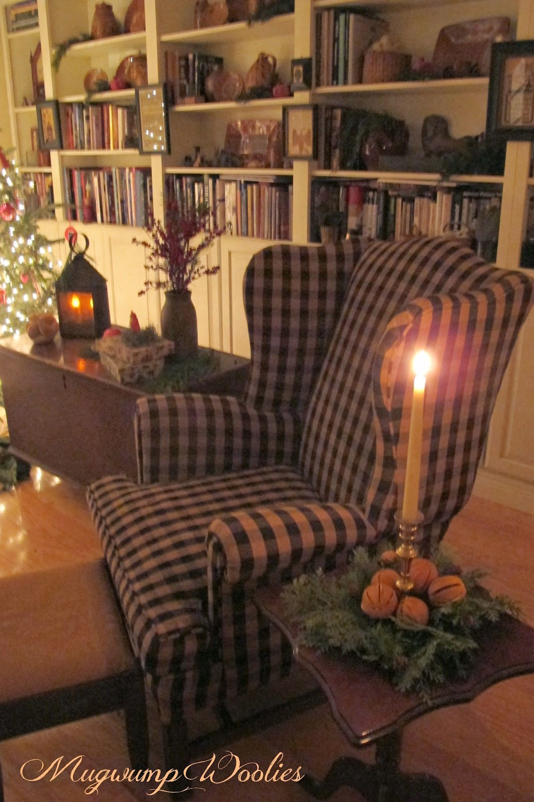 Decor Ideas For Living Rooms: Mugwump Woolies: Bits Of Christmas And Candlelight
