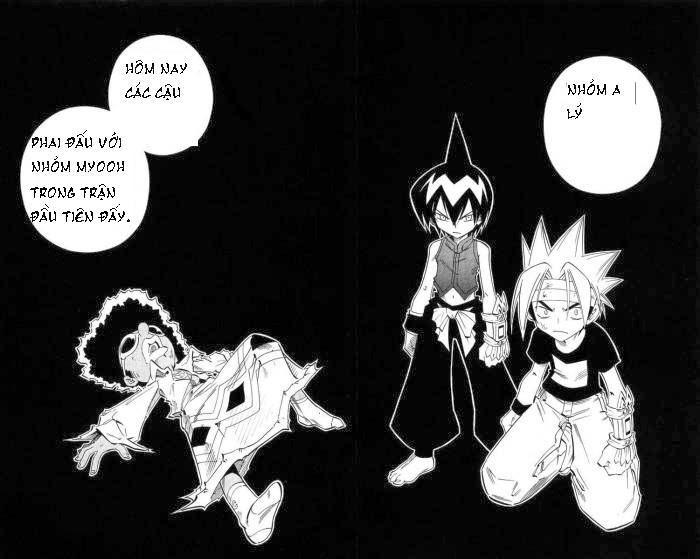 Shaman King [Vua pháp thuật] chap 219 trang 5