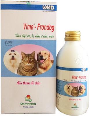 Thuốc xịt trị ve chó Vime-Frondog 250ml
