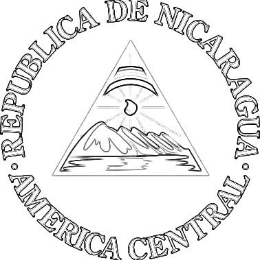 CULTURA MISCELANEAS IMAGENES DIBUJOS: DIBUJOS DEL ESCUDO DE NICARAGUA