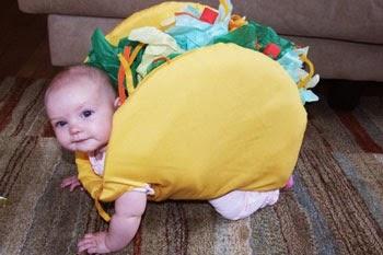 bébé hamburger