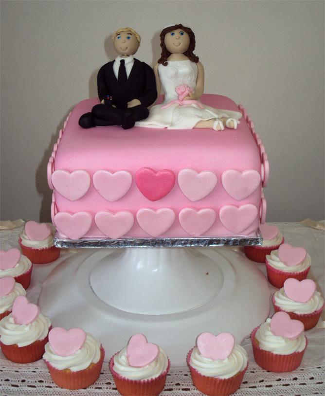Delana S Cakes Personalised Mini Wedding Cake