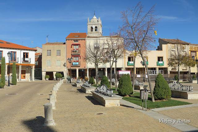 Plaza de España, Dueñas, Palencia