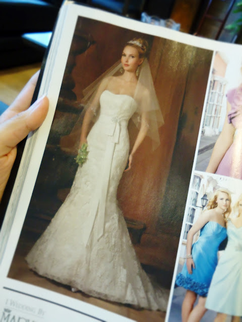 Brides Magazine: Mary's Bridal Wedding Gowns