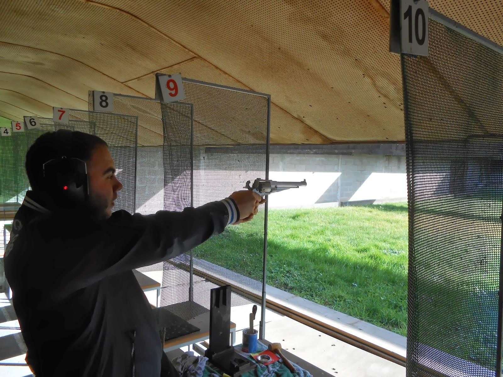 tir au remington pour noire