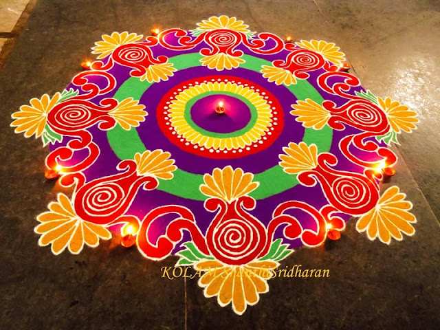 Easy and Simple Rangoli Design Free Download